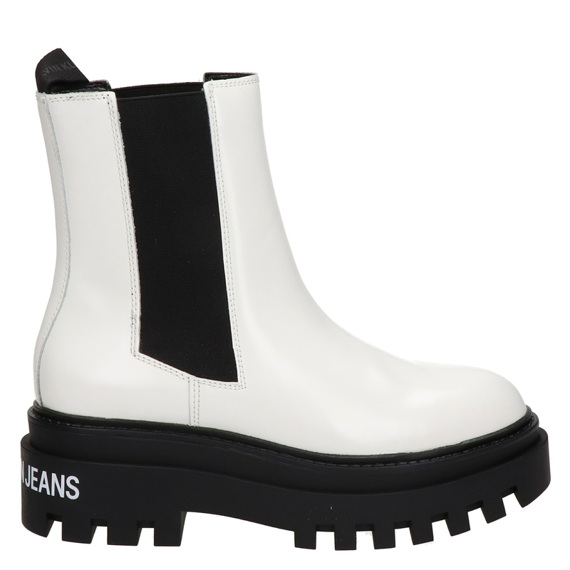 Calvin Klein - Chelseaboots - Wit