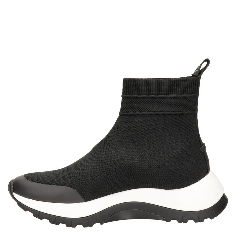 Calvin Klein - Hoge sneakers - Zwart