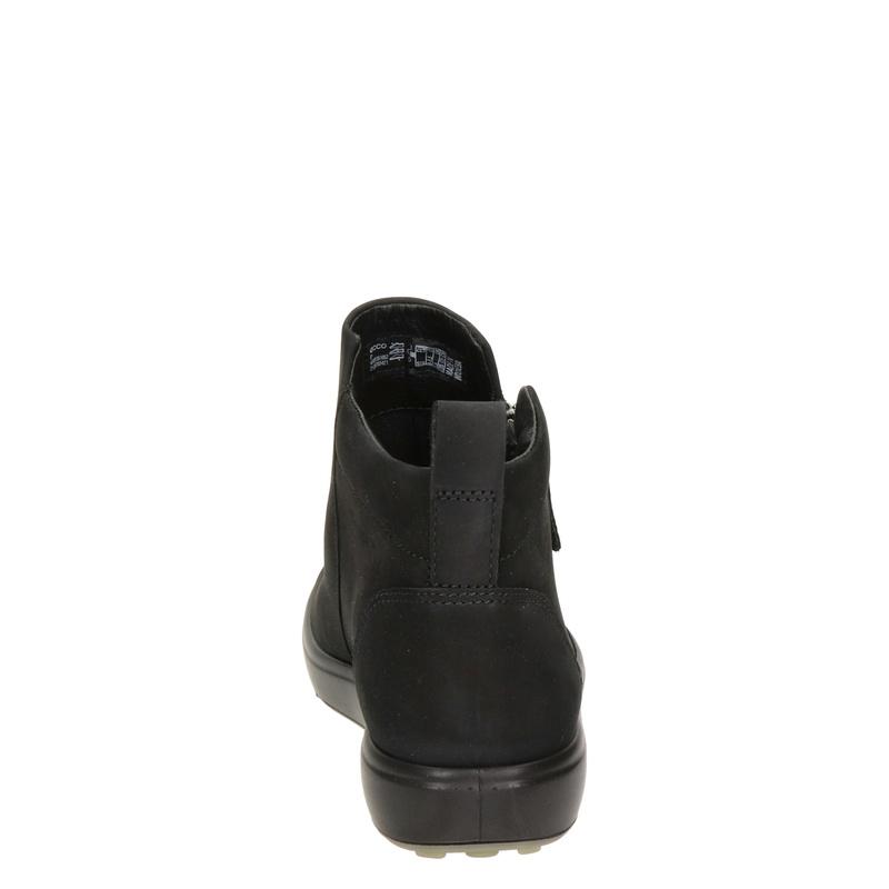 Ecco Soft 7 - Rits- & gesloten boots - Zwart