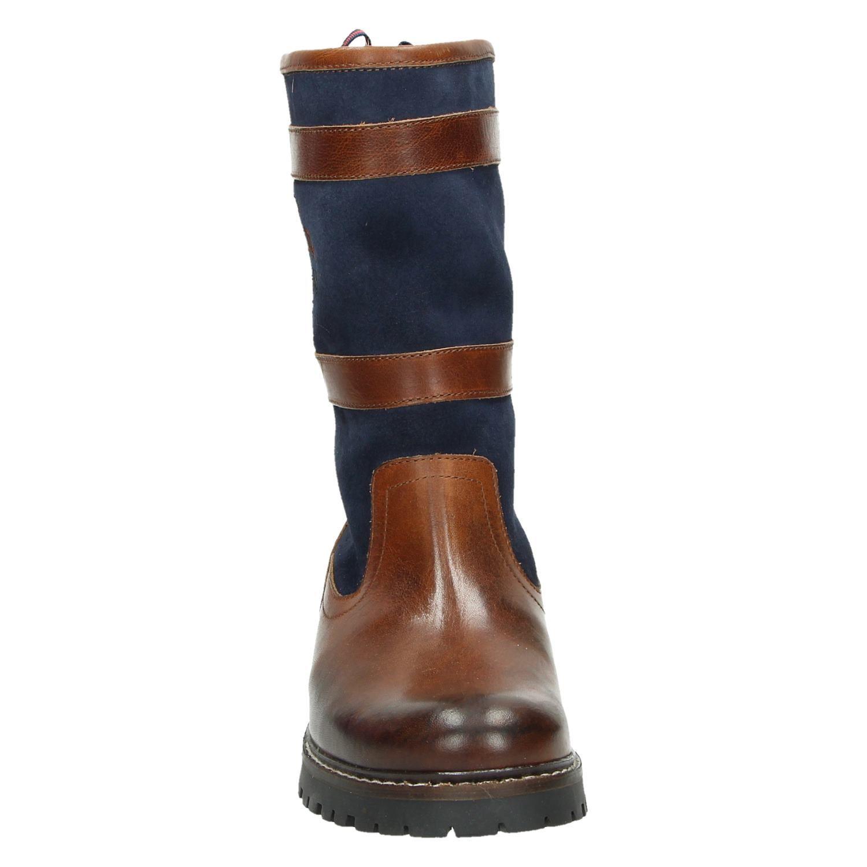 Mc Gregor Bold Hoge laarzen voor dames Cognac Shoemixx.nl