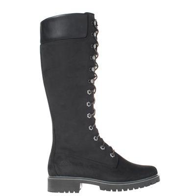 Timberland dames hoge laarzen zwart