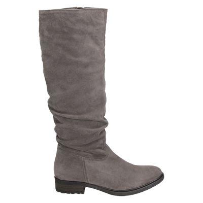Cafe Moda dames hoge laarzen grijs