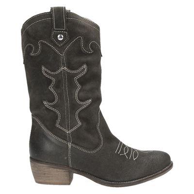 PS Poelman dames hoge laarzen grijs