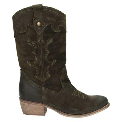 PS Poelman dames laarzen groen