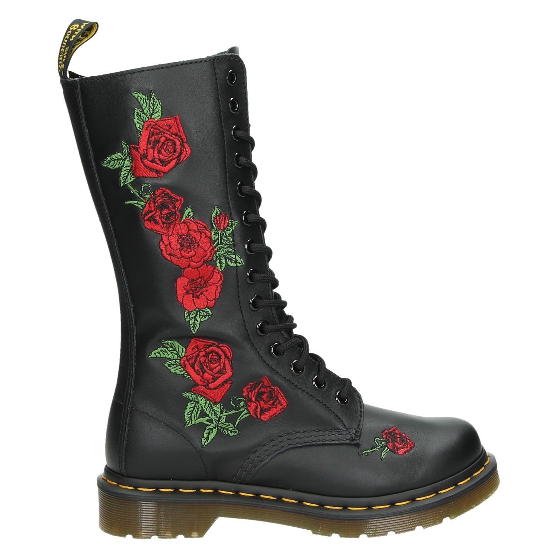 Dr Noir. Martens Chaussures Vonda 97Bdo8C