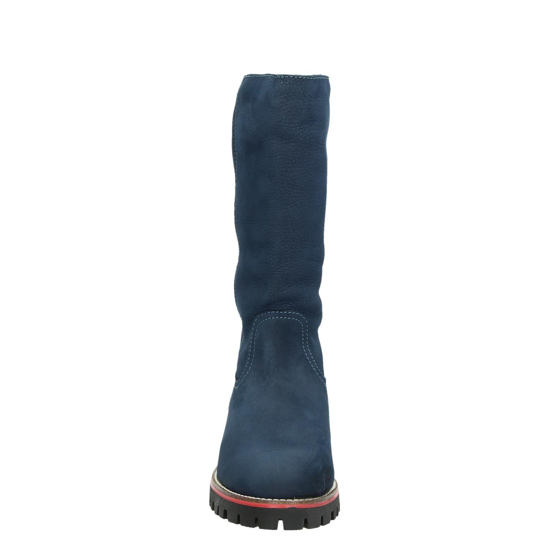 laarzen dames blauw