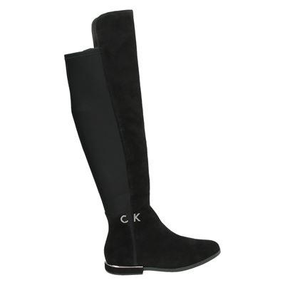 Calvin Klein dames laarzen zwart