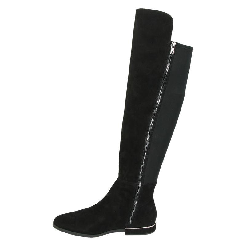 Calvin Klein Philana - Overknee laarzen - Zwart