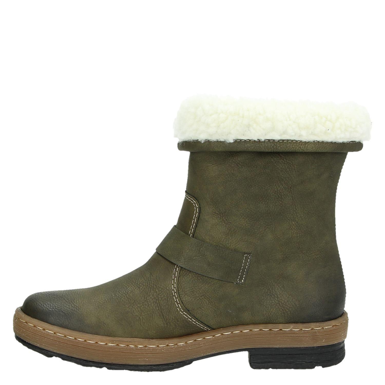 Rieker - Rits- & gesloten boots voor dames - Groen djHwGKy