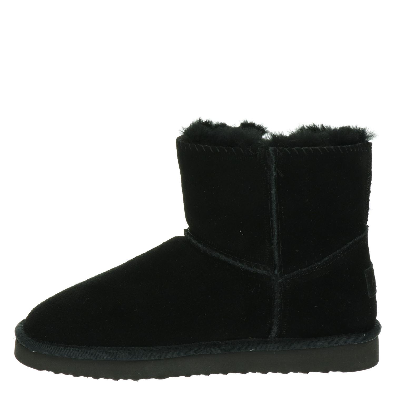 Alpacas - Rits- & gesloten boots voor dames - Zwart o5resKY