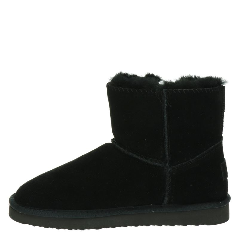 Alpacas - Rits- & gesloten boots - Zwart