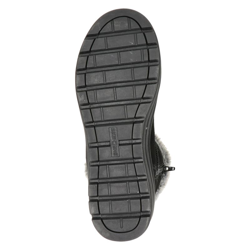 Skechers Street Cleat - Rits- & gesloten boots - Zwart