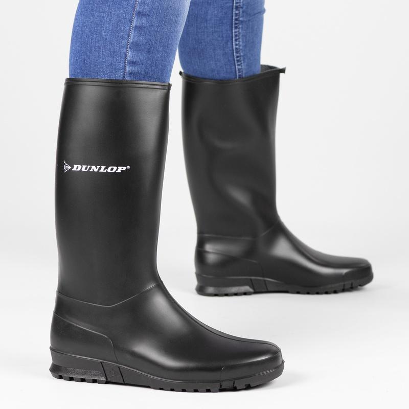 Dunlop - Regenlaarzen - Zwart