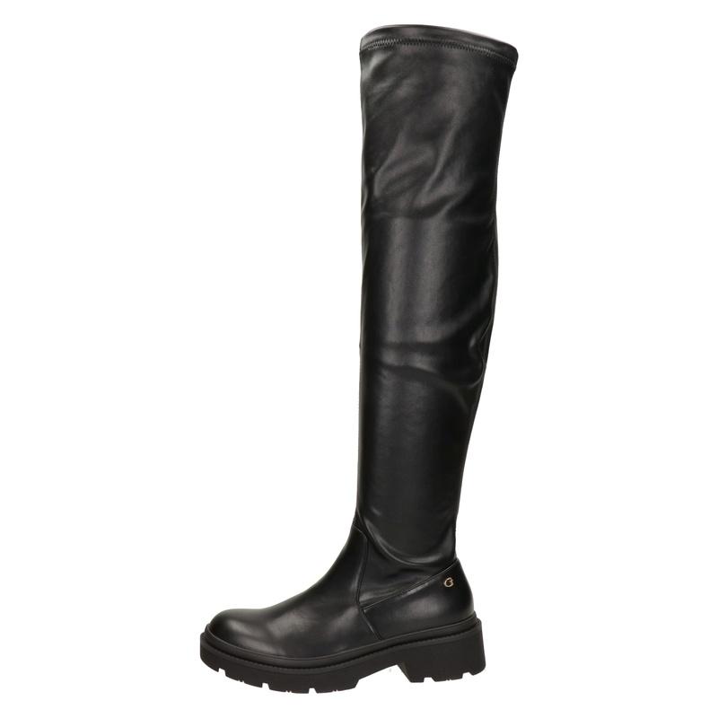 Guess Ludo - Overknee laarzen - Zwart