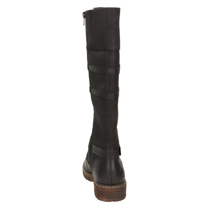 Rieker - Hoge laarzen - Zwart