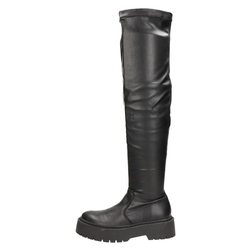 Steve Madden - Overknee laarzen - Zwart