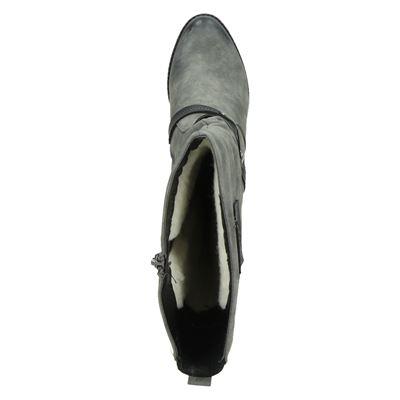 Rieker dames hoge laarzen Grijs