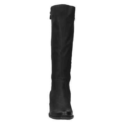 Rieker dames hoge laarzen Zwart