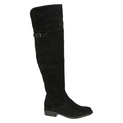 Tamaris dames hoge laarzen Zwart