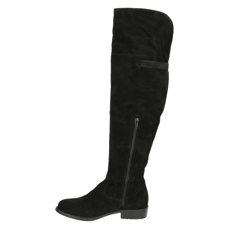 zwarte suede laarzen dames