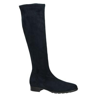 Rapisardi dames hoge laarzen Blauw