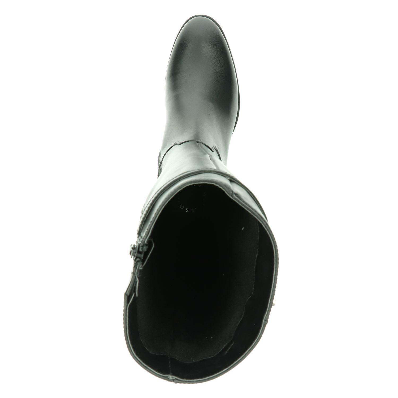 Nelson Pelina - Hoge laarzen voor dames - Zwart QYMi8gn