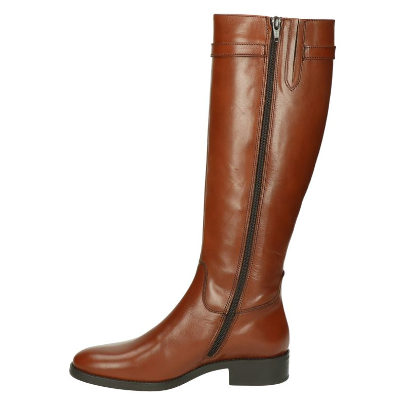 Nelson Pelina - Hoge laarzen - Cognac