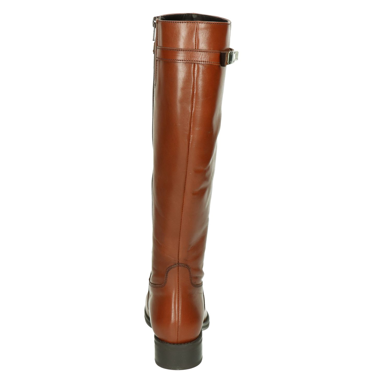 Nelson Pelina Hoge laarzen voor dames Cognac Shoemixx.nl