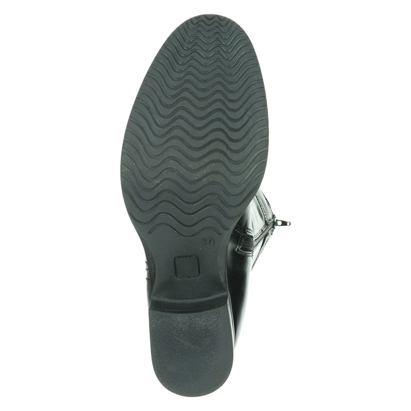 JJ Footwear Victoria XXL - Hoge laarzen - Zwart