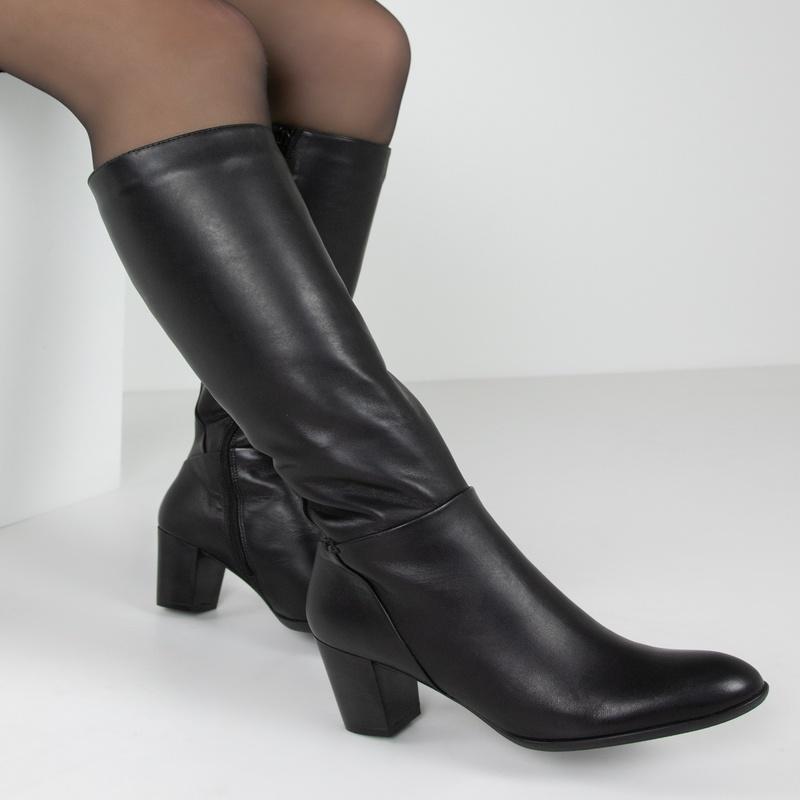 Nelson Edette - Hoge laarzen - Zwart