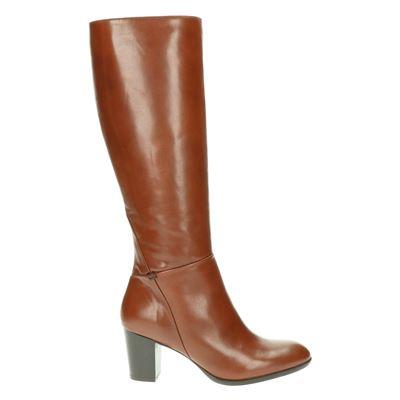 Nelson dames laarzen bruin