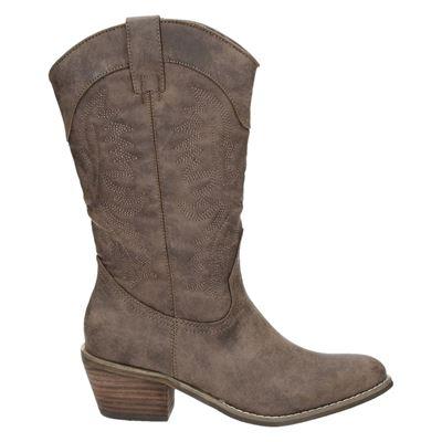 Hobb's dames laarzen bruin