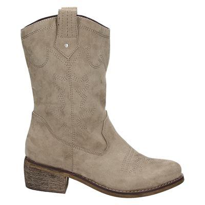 Hobb's dames laarzen taupe