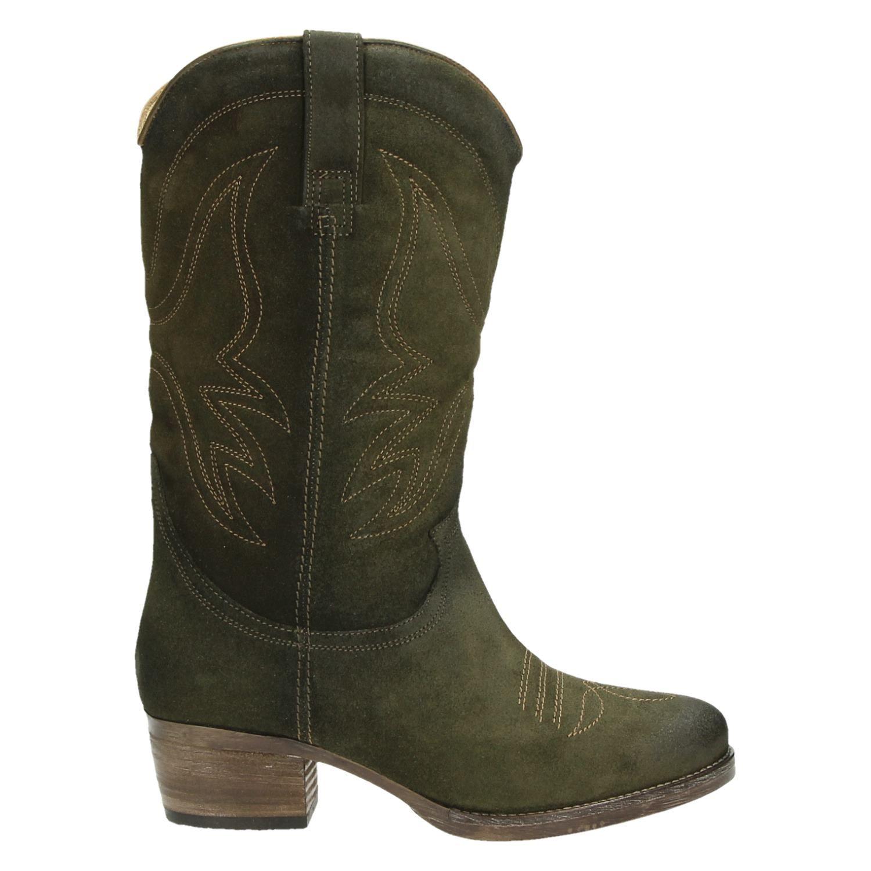 cowboylaarzen dames groen