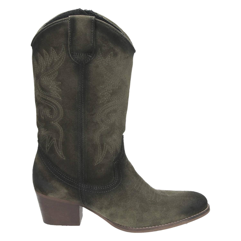 laarzen dames groen