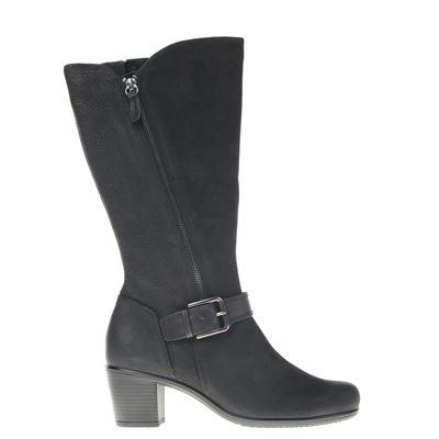 Ecco dames hoge laarzen zwart