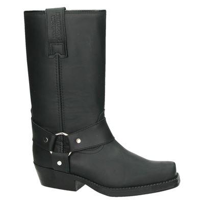 Kentuckys Western dames hoge laarzen Zwart