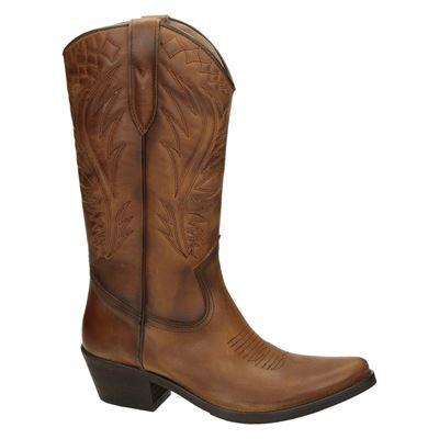 Kentuckys Western dames hoge laarzen Cognac