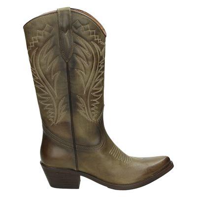 Kentucky's Western dames hoge laarzen groen