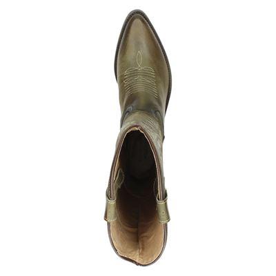 Kentuckys Western dames hoge laarzen Groen
