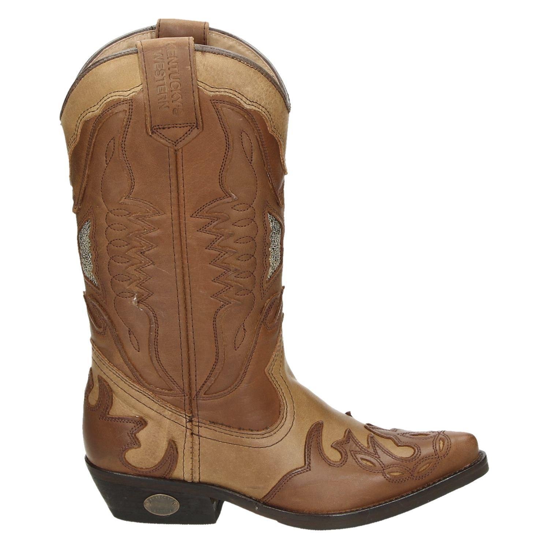 Western Dames Laarzen Kentucky's Bruin Hoge dwAxRvwFq