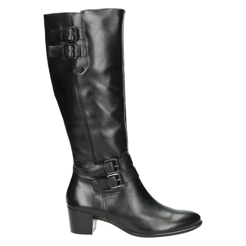 eafaa1b5964 Ecco Shape 35 - Hoge laarzen - Zwart - Shoemixx.nl