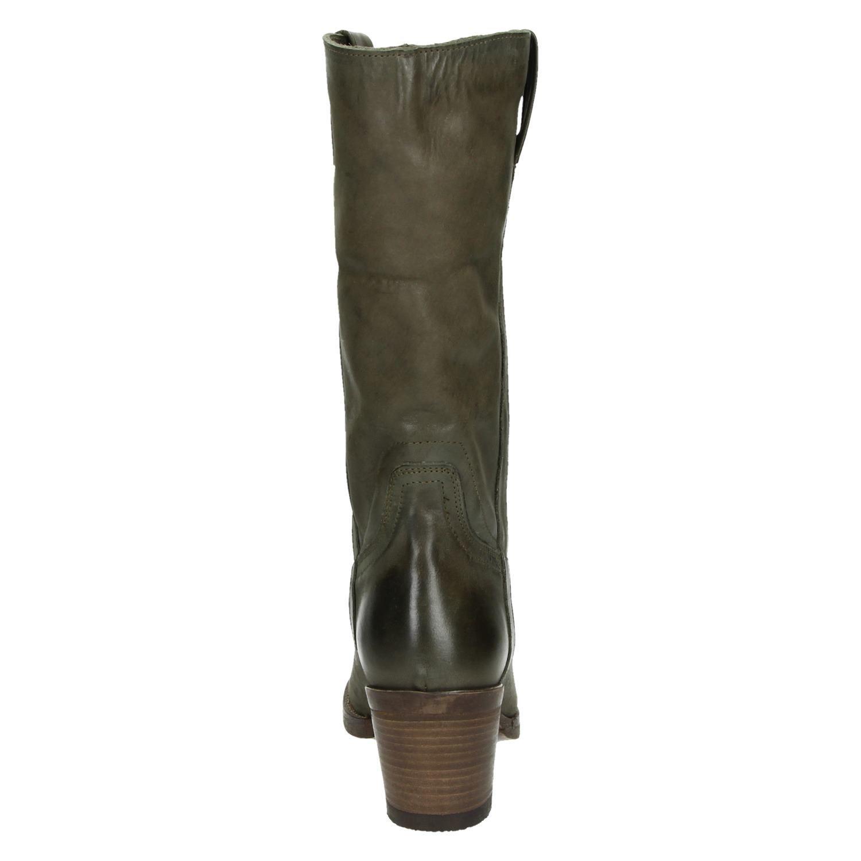Antonio Moretto Hoge laarzen voor dames Groen Shoemixx.nl