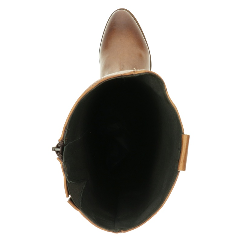 Nelson - Hoge laarzen - Cognac