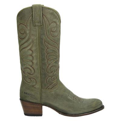 Sendra dames laarzen groen