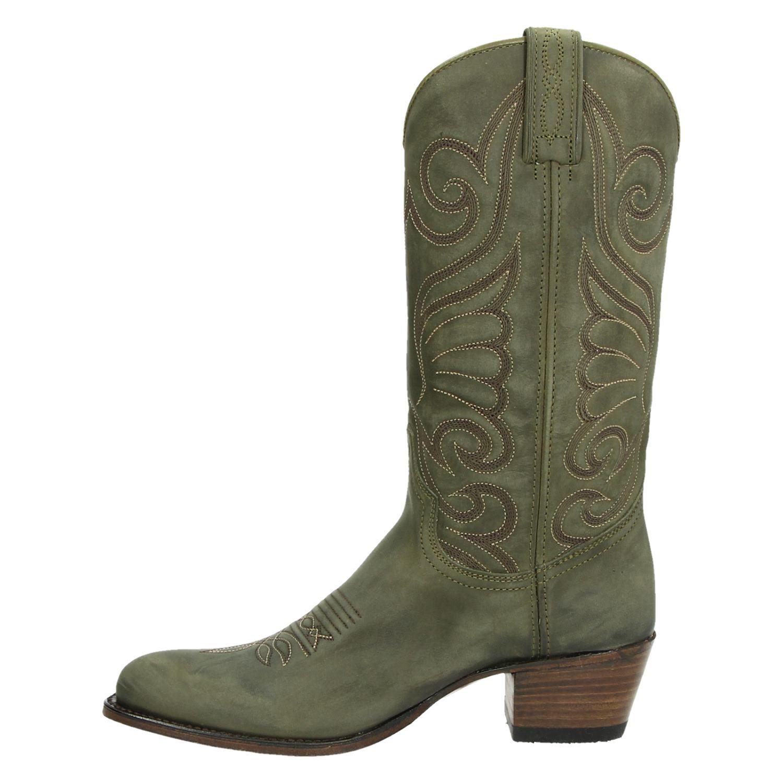 Groene Cowboylaarzen   Corral   Python leer