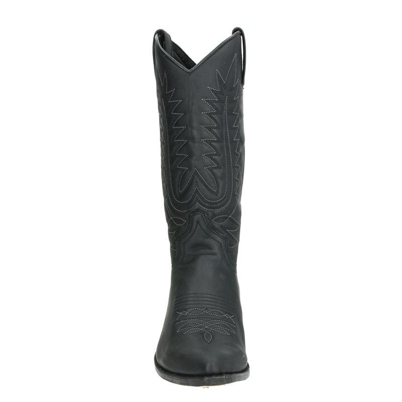 Sendra 16139 Lia - Cowboylaarzen - Zwart