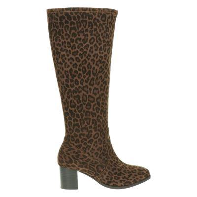JJ Footwear dames laarzen bruin