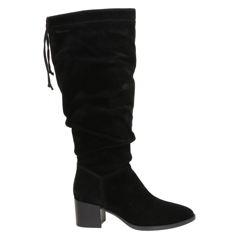 Tamaris suède laarzen zwart online kopen