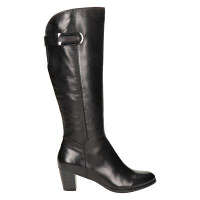 Regarde le ciel Sonia 05 Hoge laarzen voor dames Zwart